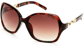 Tommy Hilfiger Tortoiseshell-Look Joy XL Square Sunglasses