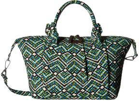 Vera Bradley Hadley Satchel Satchel Handbags - RAIN FOREST - STYLE