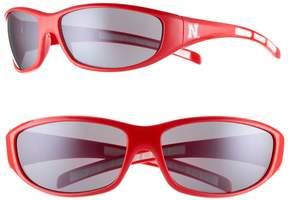 NCAA Adult Nebraska Cornhuskers Wrap Sunglasses