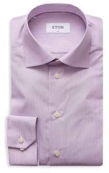 Eton Slim-Fit Micro Striped Shirt