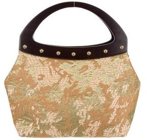 St. John Wood-Accented Brocade Bag