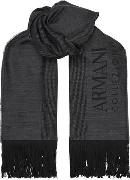 Armani Collezioni Lightweight Wool Scarf