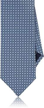 Brioni Men's Geometric-Pattern Neat Silk Necktie
