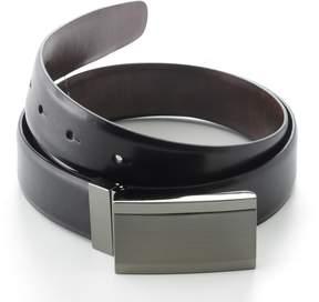 Apt. 9 Plaque Reversible Faux-Leather Belt