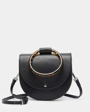 Theory Whitney With Resin Hoop in Nappa Leather