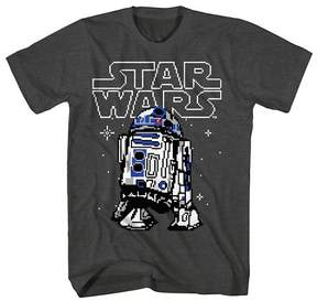 Star Wars Boys' R2D2 Graphic T-Shirt - Charcoal Heather