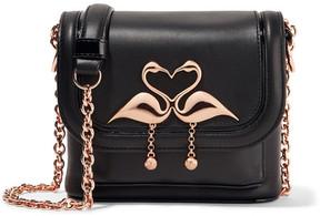 Sophia Webster - Claudie Embellished Leather Shoulder Bag - Black