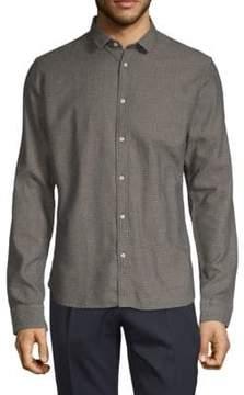 Scotch & Soda Printed Cotton Button-Down Shirt