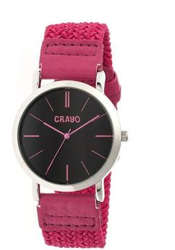 Crayo Symphony Collection CRACR2706 Unisex Watch with Nylon Strap