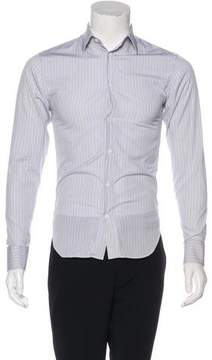 Christian Dior 2007 Striped Dress Shirt