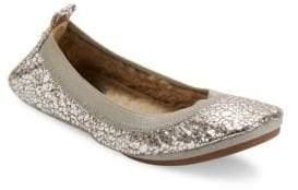 Yosi Samra Dress Round-Toe Ballet Flats