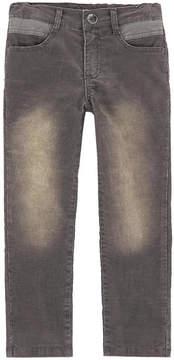 3 Pommes Boy regular fit velvet pants