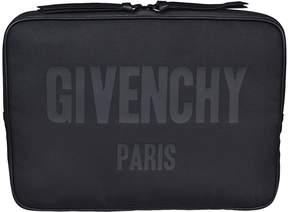 Givenchy Logo Print Document Holder