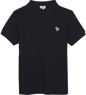 Paul Smith Luciano zebra cotton polo shirt 4-16 years