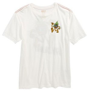 RVCA Boy's Aloha Pineapple Graphic T-Shirt
