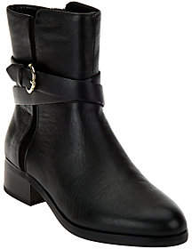 C. Wonder As Is Tumbled Leather Mid-Calf w/ Buckle-Alexis