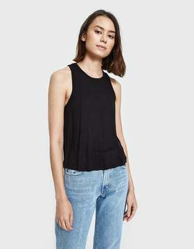 Which We Want Ribbed Crop Top in Black