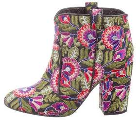 Laurence Dacade Pete Embroidered Ankle Boots