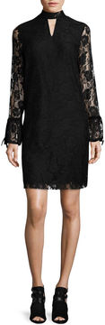 Libby Edelman Long Sleeve Lace Dress