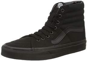 Vans Unisex Sk8-Hi Black/Black/Black Skate Shoe size 7.5
