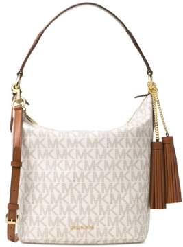 Michael Kors Elana Large East West Convertible Shoulder Bag - Vanilla - 30T6GE3L3B-150 - VANILLA - STYLE