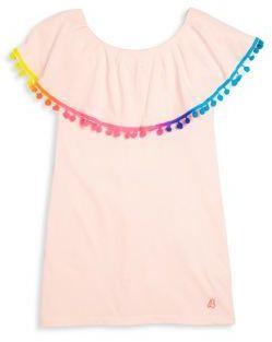Billieblush Toddler's, Little Girl's & Girl's Jersey Cape Sleeve Top
