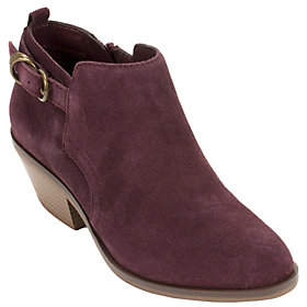 White Mountain Heritage Collection Leather Ankle Boots - Sadie
