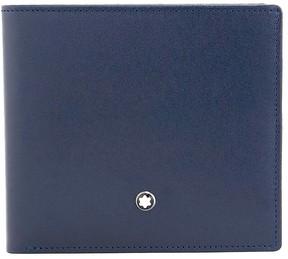 Montblanc Meisterstuck 8 CC Leather Wallet - Navy