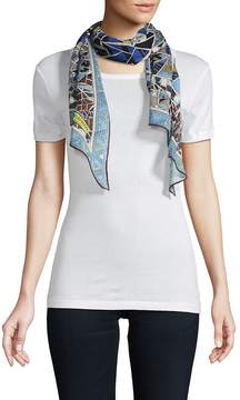 Emilio Pucci Women's Abstract-Print Stole