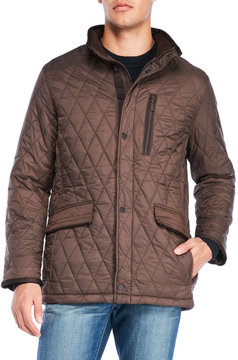 Rainforest Quilted Faux Down Jacket