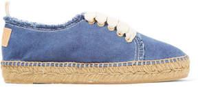 Castaner Kosario Denim Espadrille Sneakers - Blue