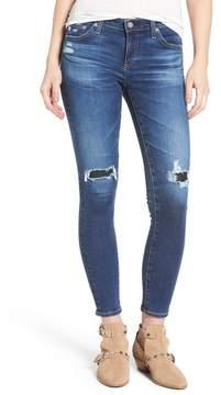 AG Jeans 'The Legging' Ankle Super Skinny Jeans (8 Year Whistler)