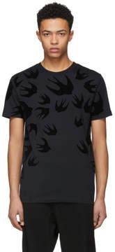 McQ Black Swallow T-Shirt