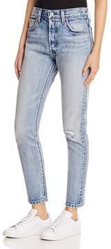 Levi's 501® Selvedge Skinny Jeans in Summer Dune