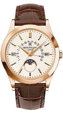 Patek Philippe Grand Complications Silvery Opaline Dial 18K Rose Gold Men's Watch