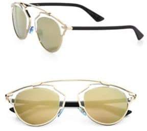 Christian Dior So Real 48MM Pantos Sunglasses