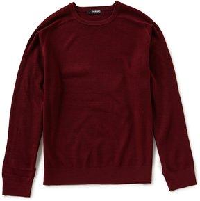 Murano Modern Performance Textured Crew Sweater