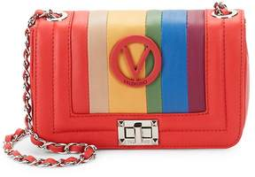Mario Valentino Valentino by Women's Beatriz Leather Crossbody Bag