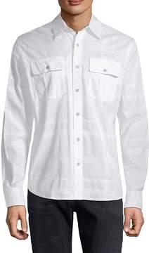 Affliction Men's Rival Element Cotton Shirt