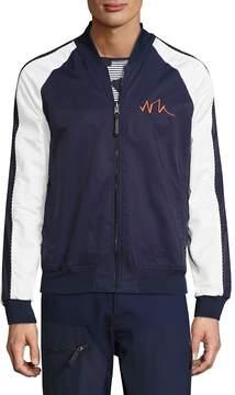 Madison Supply Men's Reversible Baseball Collar Jacket