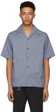 Prada Blue Poplin Bowling Shirt