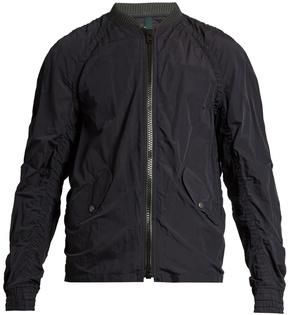 Kolor Ruched lightweight bomber jacket