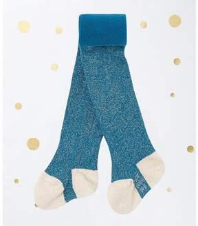 Petit Bateau Baby girl's lurex tights