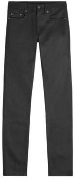 Saint Laurent Classic Raw Slim Leg Jeans