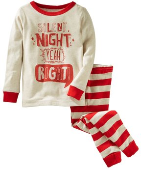 Osh Kosh Boys 4-14 Silent Night 2-Piece Pajama Set
