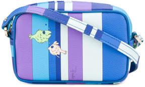 Emilio Pucci fish print shoulder bag