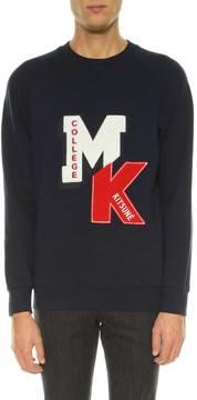 Kitsune Sweatshirt With Patches