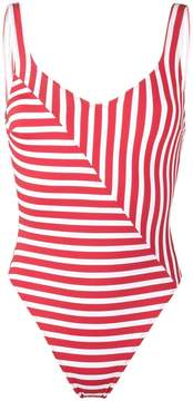 Araks Harley striped swimsuit