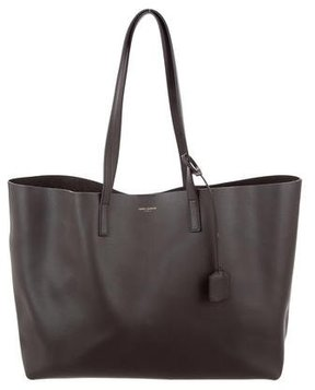 Saint Laurent Large Shopping Tote - GREY - STYLE