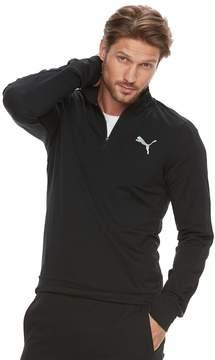 Puma Men's StretchLite Slim-Fit Performance Quarter-Zip Pullover